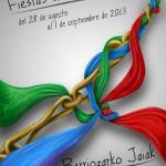 Ganadores del concurso cartel de fiestas de Berriozar 2013