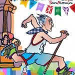 El vecino de Berriozar Eusebio Medina ganador del concurso de carteles de San Fermin Txikito