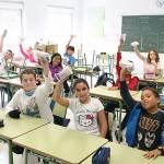 El colegio Mendialdea I se llenó de bocatas