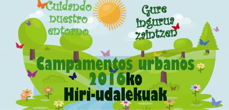 Inscripción a campamentos urbanos de verano en Berriozar