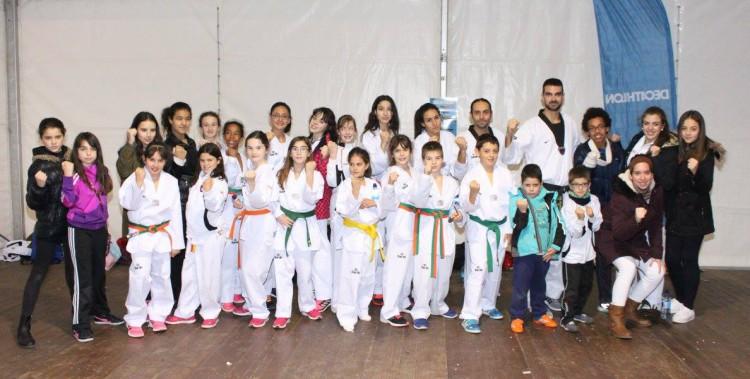 La 'Escuela de Campeones' de Taekwondo en Berriozar cumple diez años de éxitos