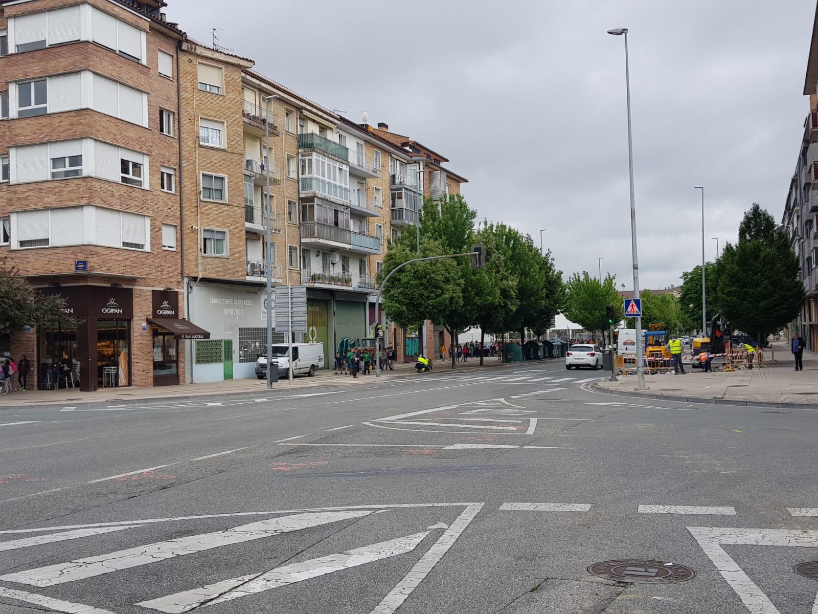 Comienzan las obras de la nueva rotonda en la Avenida de Gipuzkoa de ...